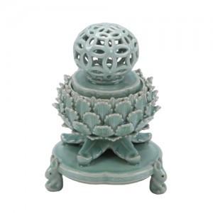 Celadon Incense-Burner with Openwork