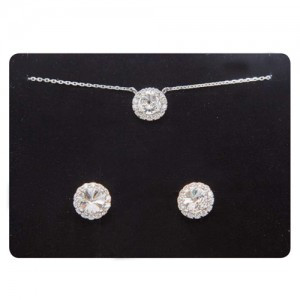 Point line (earring, Necklace, SET)