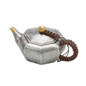Silver Octagonal Teapot