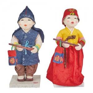 Korean Traditional Paper Craft (Design: Best man / Bridesmaid)