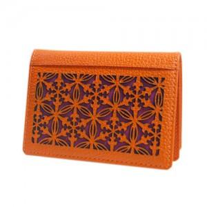 Vajra kkotmun card holder (yeonhong)