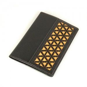 Minkkot doors passport wallet