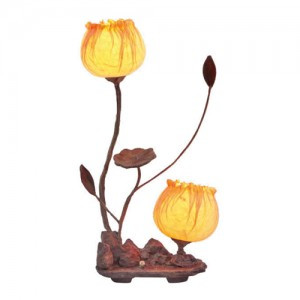 Korean Traditional Paper Lamp (Design: Tulips)
