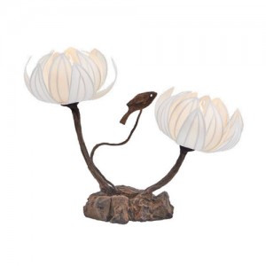 Korean Traditional Paper Lamp (Design: Wild Flower)