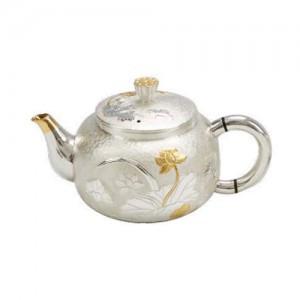 Silver Teapot (Model: YX-G7A)