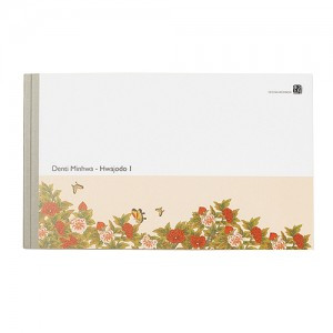 Memo pad(Design: Hwajodo - The painting of flowers and butterflies)
