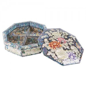 Peony Octagonal Sewing case (L)