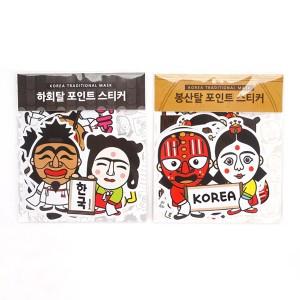 Sticker (Design: Korean traditional mask)