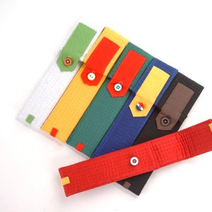 Portable pocket (Style: Taekwondo's belt)