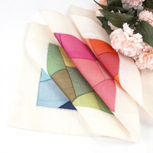 Korean Patchwork  Style Table Mat (25*25cm)