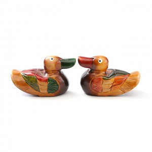 Wooden plump ducks (Small size)