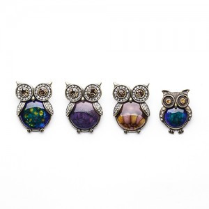 Brooch (Owl / Beetle)