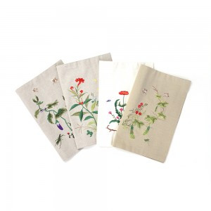 Table mat (Design: Chochungdo-The painting of flowers and butterfles)