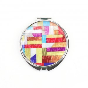 Hand Mirror made by Mother-Of-Pearl