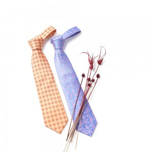 Silk Necktie (Design: Korean Traditional Pattern)