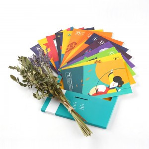Hangeul Illustration Postcard Set