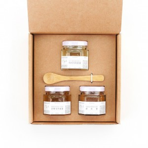 Natural Honey 3 Mini Botttles Set