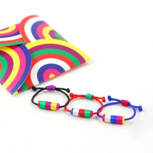 Coloful Mini Tube Ring