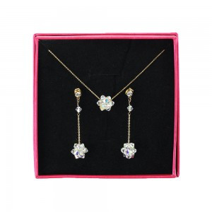Crystal Necklace (Available Set)