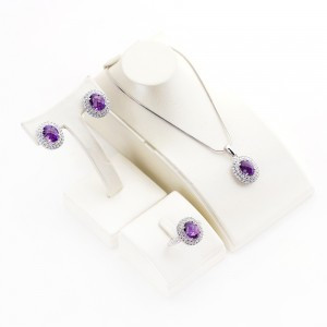 Amethyst Necklace (Available Set)