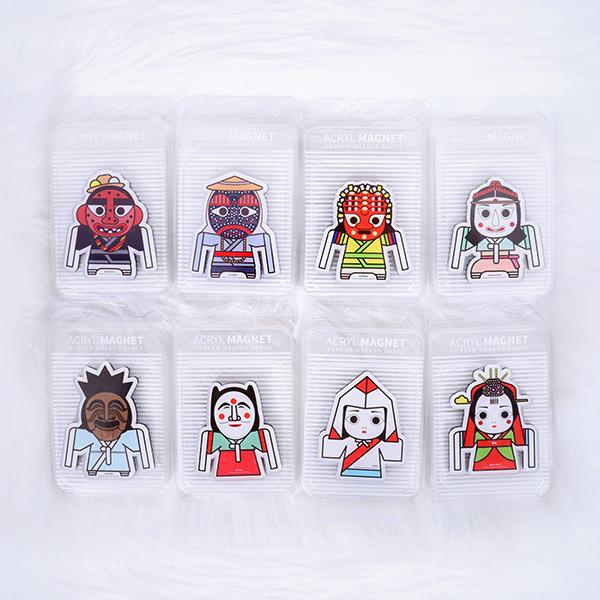 Korea masked magnet