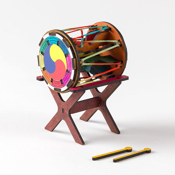 Traditional Instrument 3D Puzzle